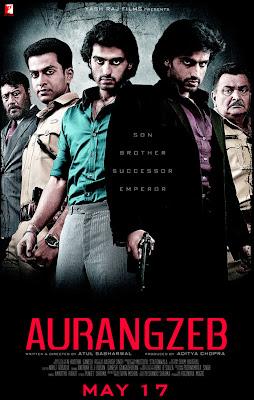 Aurangzeb First Look Poster