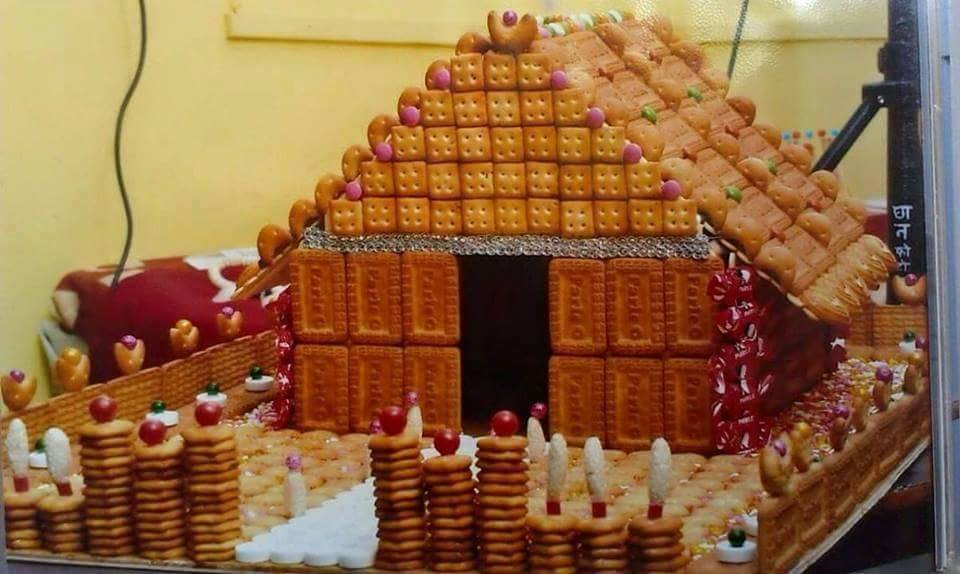 Biscuit art