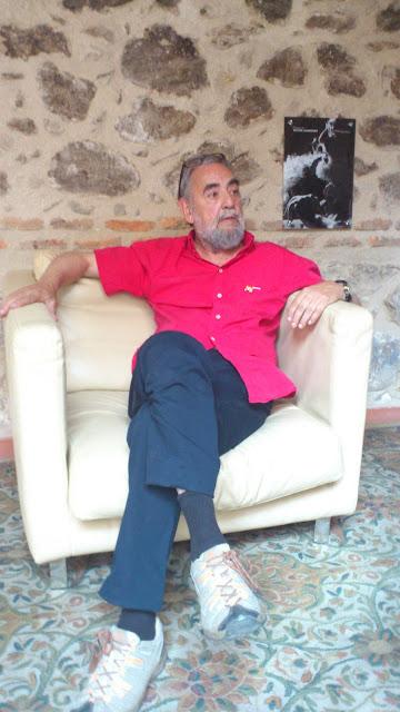Víctor Chamorro Clazón. Foto: Manel Márquez. Kaosenlared