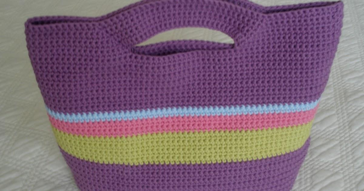 Bolso de ganchillo paso a paso patrones crochet - Como se hace ganchillo ...