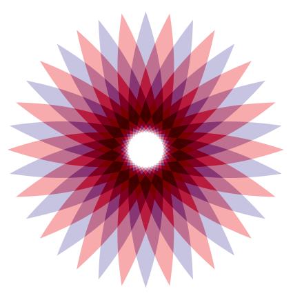 Menggambar Spirograph Dengan Polygon Tool