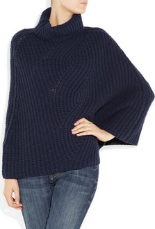 capa lana mujer
