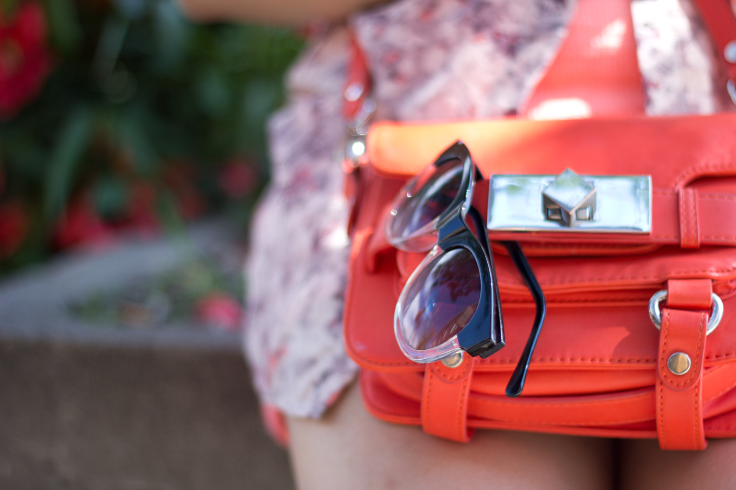 Retro-Sunnies, Orange-Tote