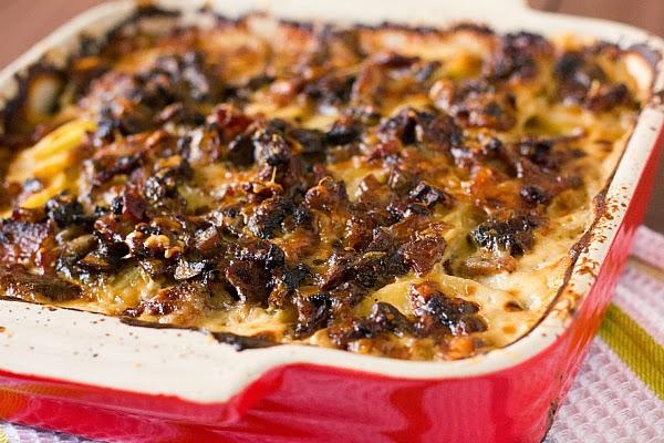 bacon mushroom potato gratin baked gemelli with cremini mushrooms ...