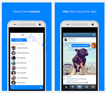 how to see other messages on facebook messenger app