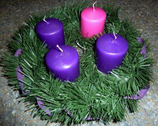 Le candele dell'Avvento 2011