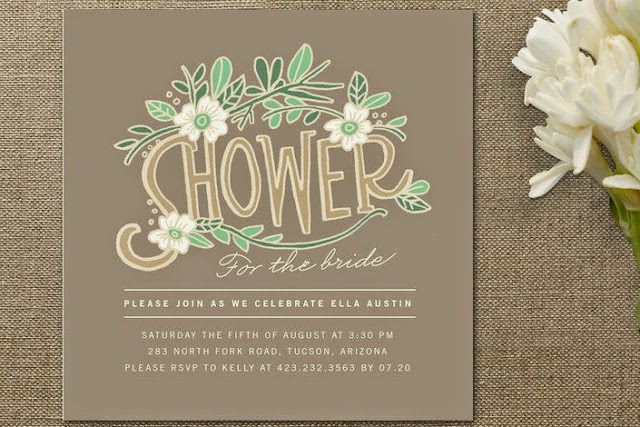 Attention: Bridal Shower Invitations -2