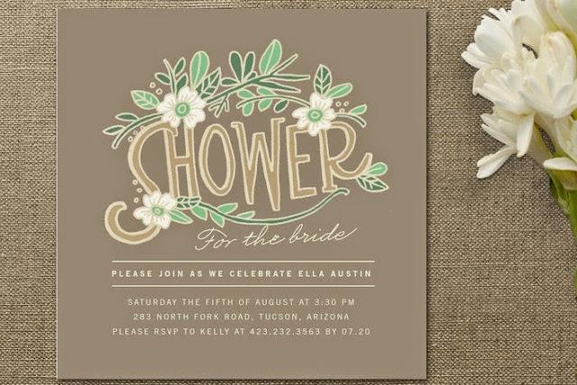 Attention: Bridal Shower Invitations -2