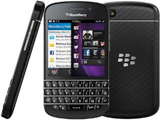 Harga dan Spesifikasi BlackBerry Q10 Terbaru