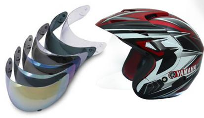 Tips dan Cara Memilih Helm Dengan Visor (Kaca) Yang Nyaman