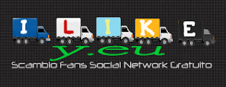 I LIKE Y.EU - ti aiuta ad aumentare la tua popolarita su i piu noti social network, Twitter, facebook, google con un semplice scambio fans!