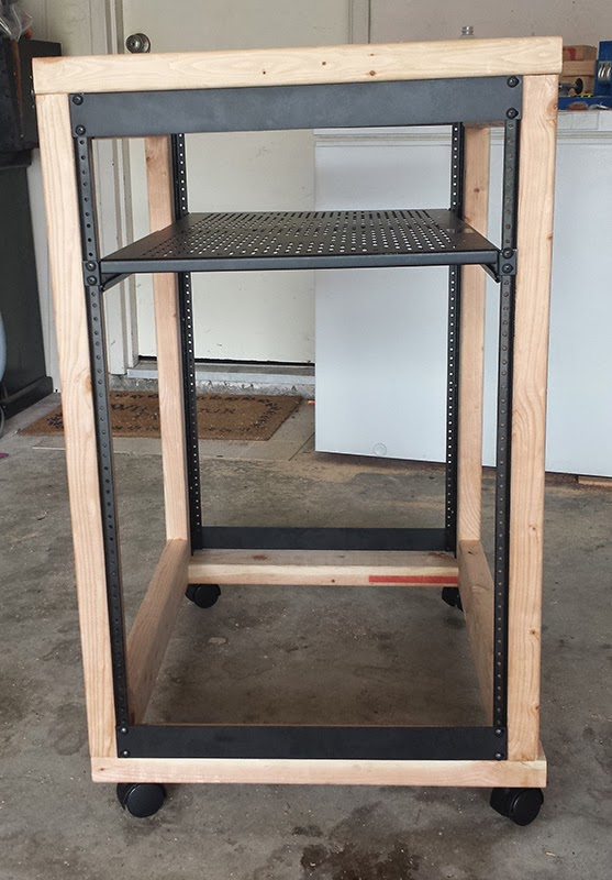 Diy server rack plans for Homemade rack case