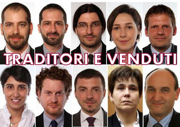 Ondasud cultura mediterranea movimento 5 stelle la for Parlamentari movimento 5 stelle