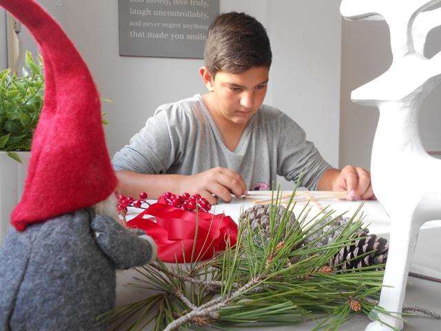 #Navidadbonitista: 1 estrella DIY y 3 formas de decorarla