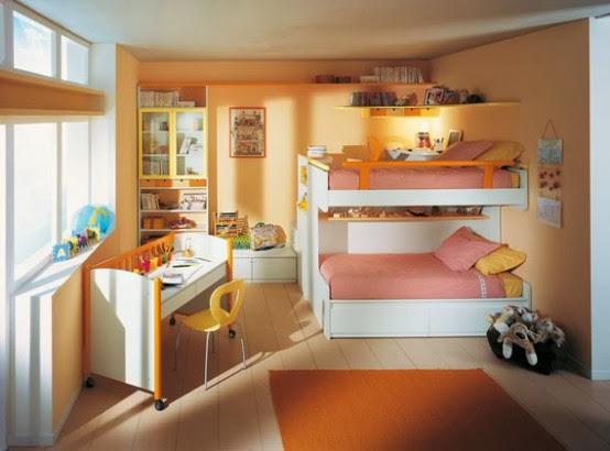 desain kamar tidur anak yang trendy rumah mewah