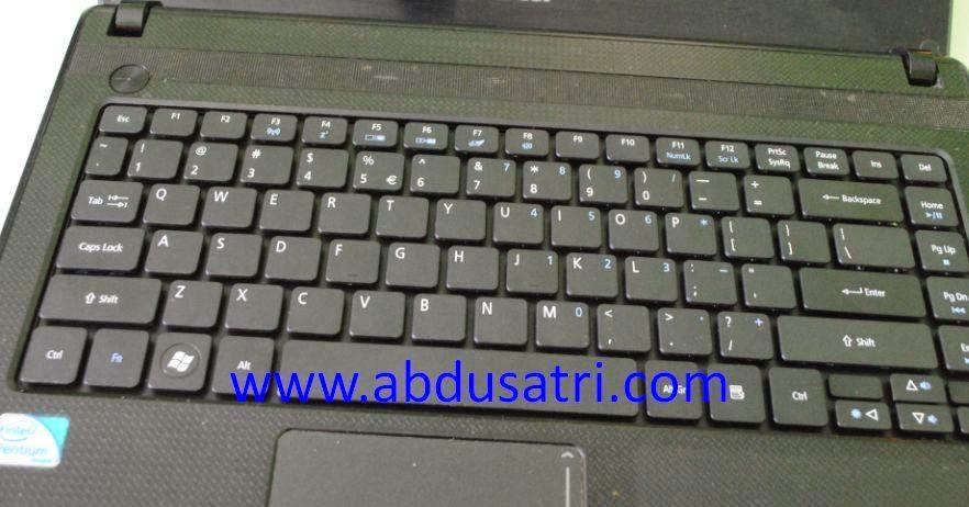 mengganti keyboard laptop dengan keyboard baru