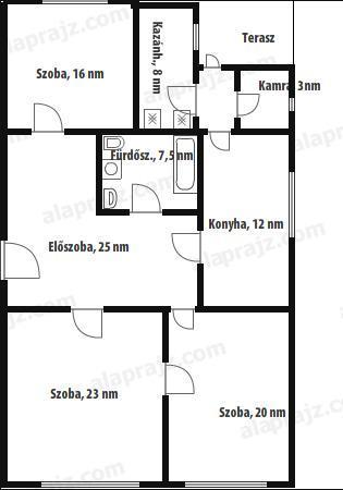 Eladó családi ház : Belső elrendezés
