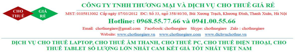 Dịch vụ cho thuê điện thoại smartphone giá rẻ tại Hà Nội, TPHCM 0964881199