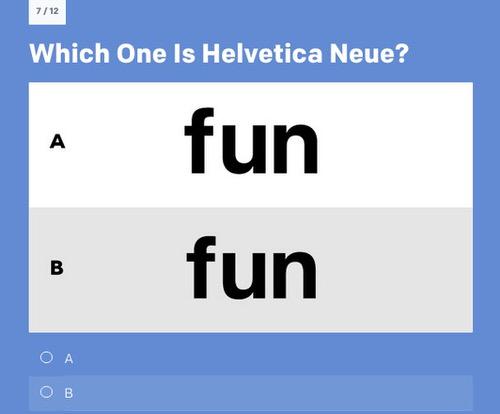 San FranciscoとHelvetica Neueの違い