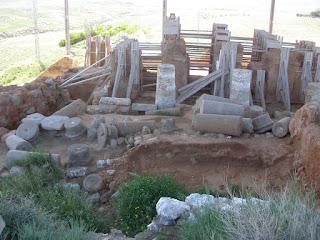 Contrebia Belaisca yacimiento arqueológico