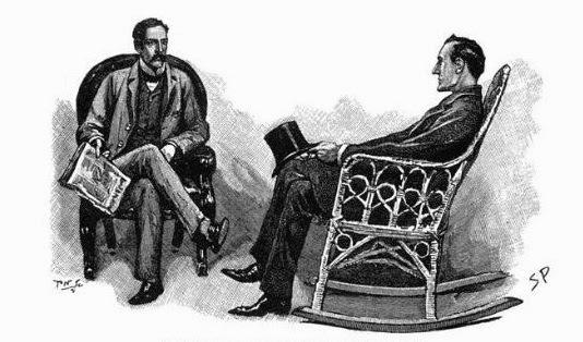 Sherlock Holmes Sidney Paget illustration Arthur Conan Doyle story