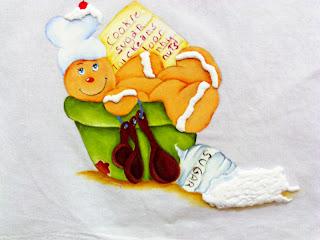boneco ginger na tigela