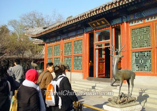 Hall of Joyful Longevity in Summer Palace