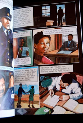 sample page from NELSON MANDELA : The Life Of An African Statesman  by Rob Shone  Neil Reed (Illustrator)