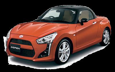 Daihatsu Copen - Orange