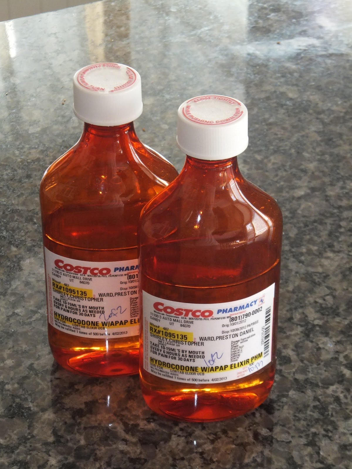 hydrocodone acetaminophen liquid price