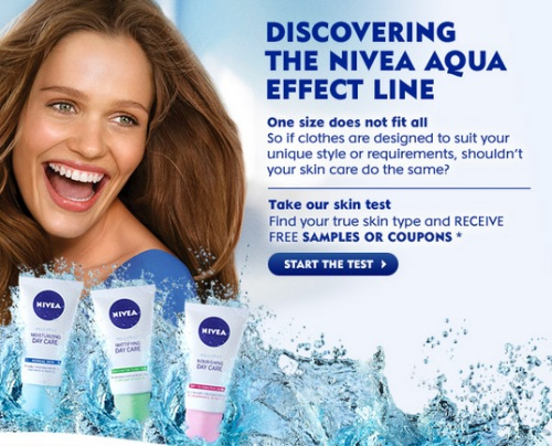 Canadian daily deals nivea free samples aqua effect amp coupons