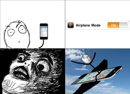 Iphone - Airplane Mode On - LOL