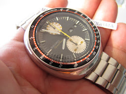SOLD SEIKO CHRONOGRAPH SPEEDTIMER UFO - AUTOMATIC 6138