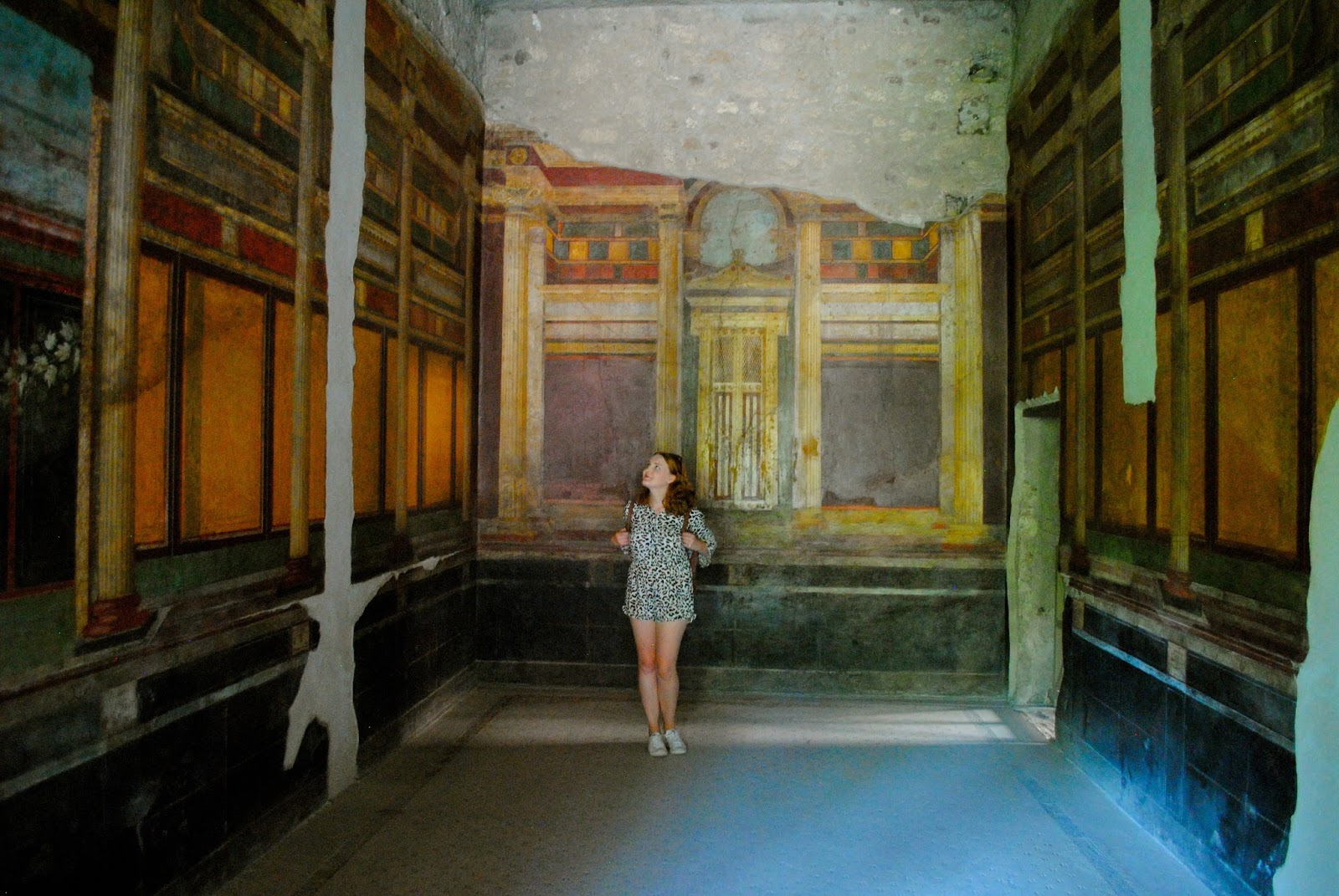 Villa of Mysteries in Pompeii Italy