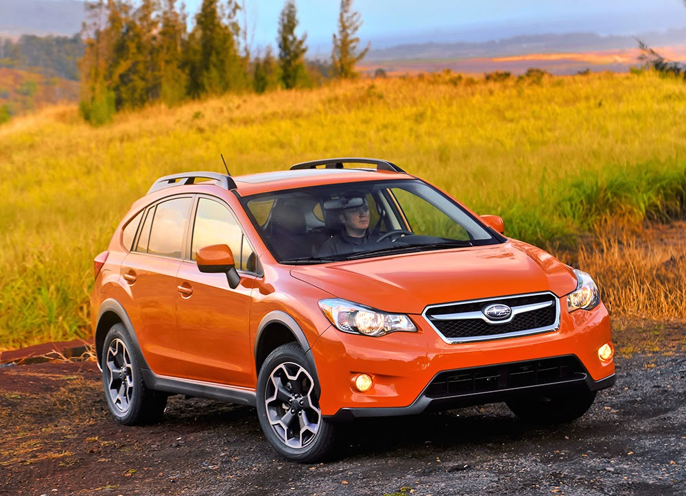 Subaru XV Crosstrek (Tangerine Orange Pearl)