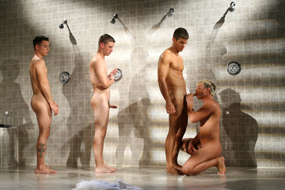 Bombero masculino desnudo