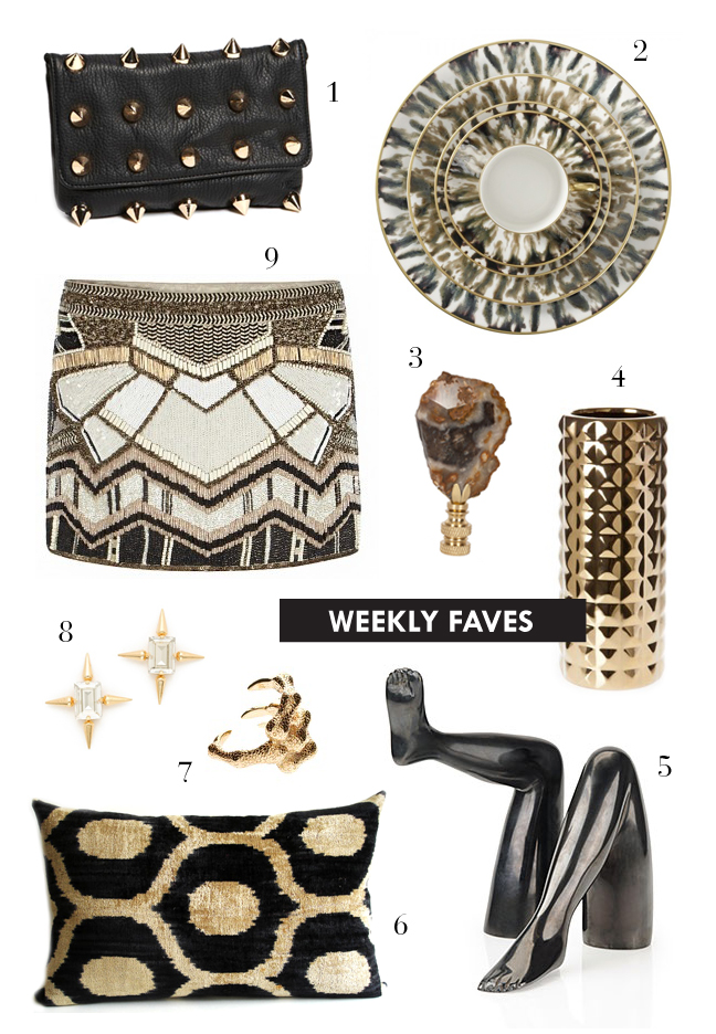 mimiandmegblog.com : WEEKLY FAVES: Black + Gold