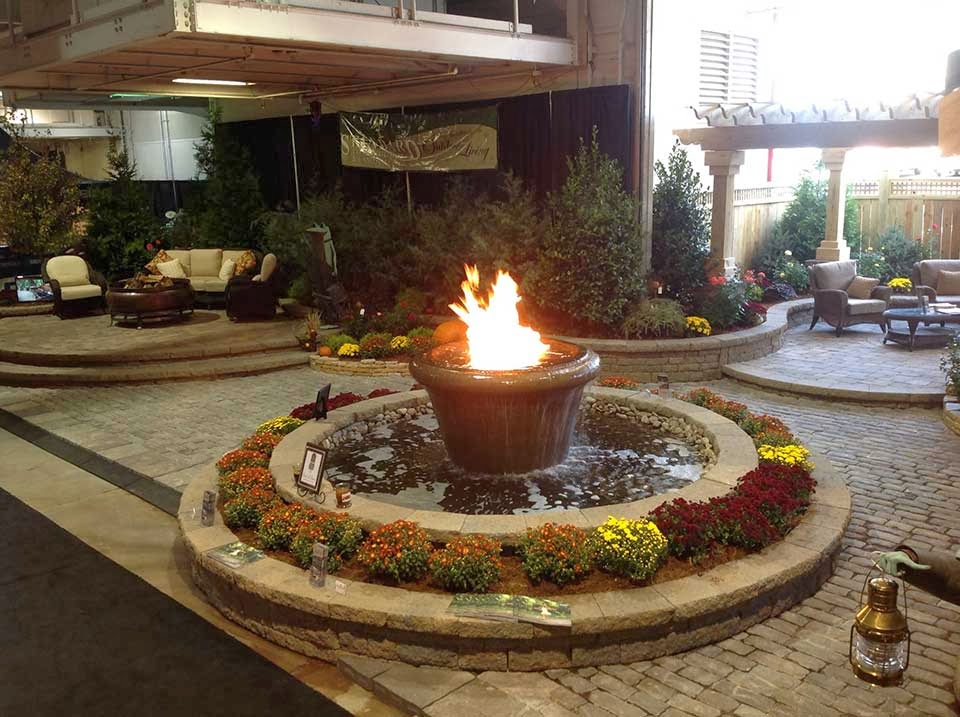 Premier Outdoor Living Like Fire Water Features