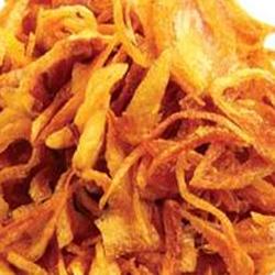 resep bawang merah goreng, cara membuat bawang merah goreng, bawang goreng