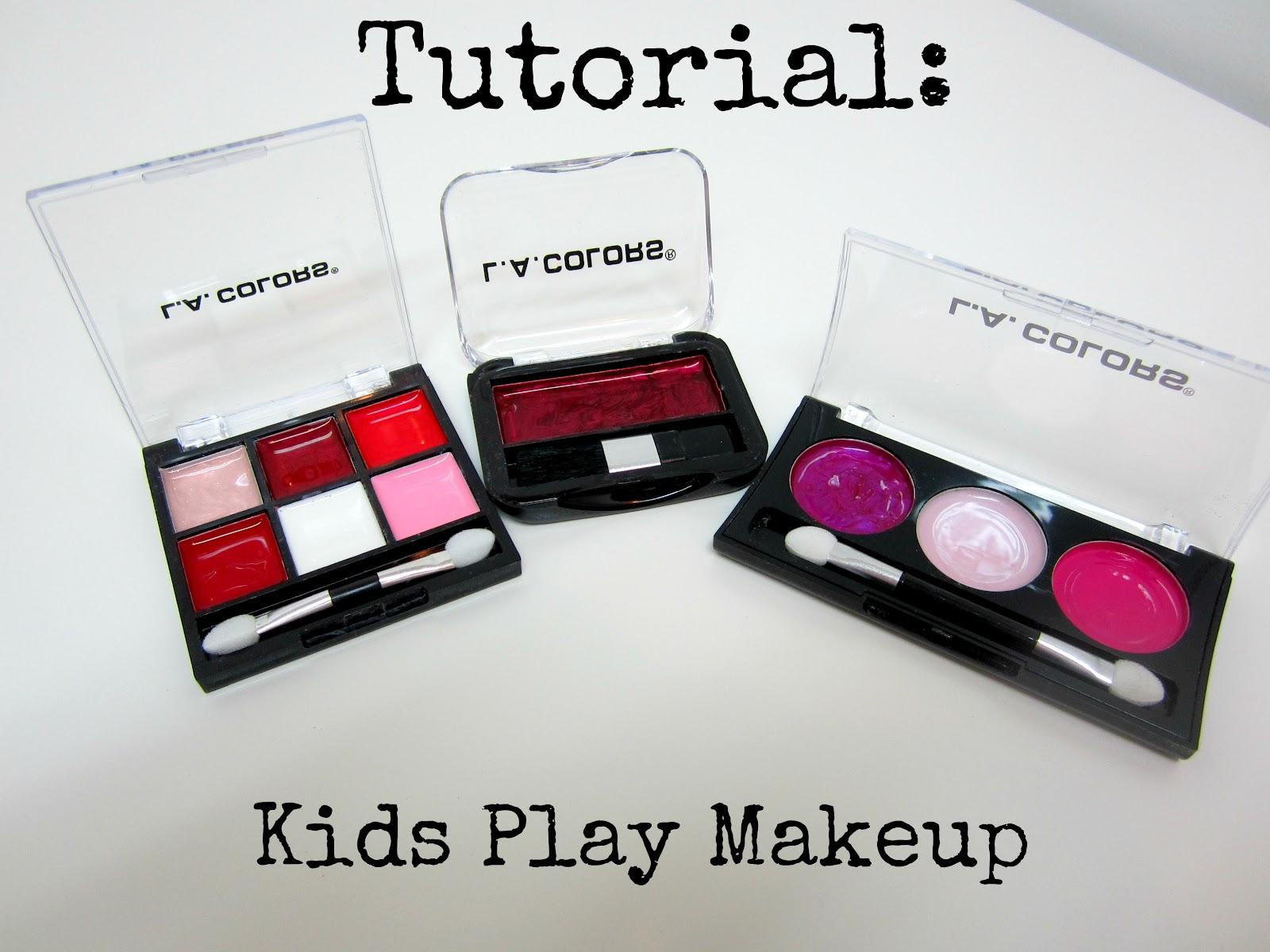 4Eighteen: Tutorial: Kids Play Makeup