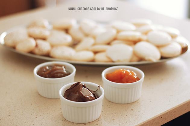 Macarons - 3 sabores - finde cocinillas