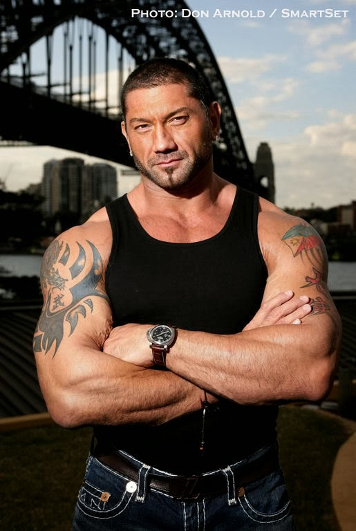 Batista like you ve never seen him before: photos WWE 95