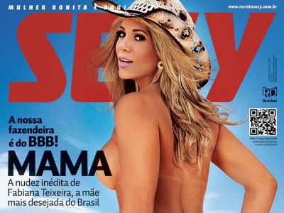 Fabiana Teixeira Revista Sexy