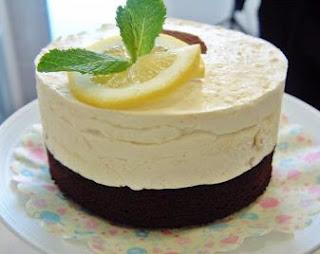 Mousse Helado de  Limón y Chocolate