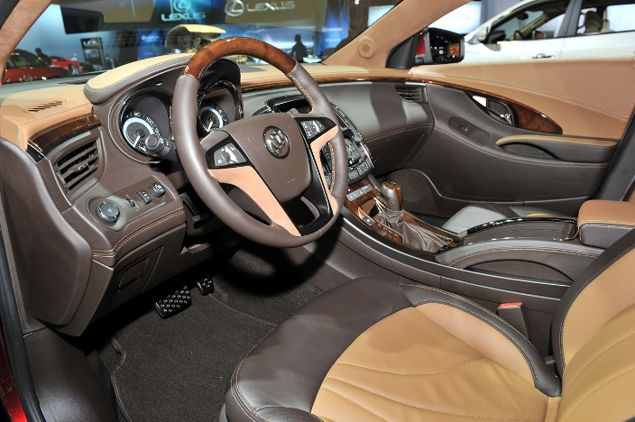 Buick Will Show In Los Angeles Luxury Concept Lacrosse Gl 2012 Live