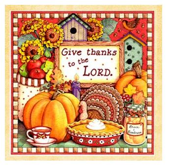 Give Thanks....