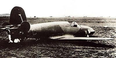 БИ-1 после первого полета Бахчиванджи.