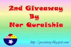2nd Giveaway By Nor Quraishia