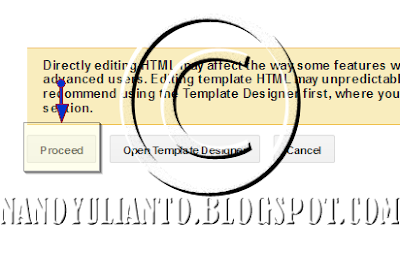 Edit HTML >&gt Proceed