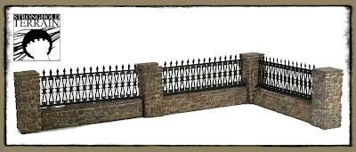 blog o figz muret de pierre avec grille stronghold terrain. Black Bedroom Furniture Sets. Home Design Ideas